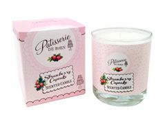 Strawberry Cupcake Candle