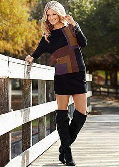 Banded Bottom Sweater Dress $27