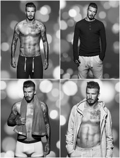 David Beckham for H&M- hehehe this is wonderful