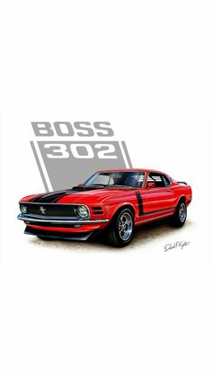 47 Ideas Vintage Cars Wallpaper Ford Mustangs For 2019 Lamborghini, Ferrari, Porsche, Audi, Mustang Cars, Ford Mustangs, Car Illustration, Car Posters, Chevy