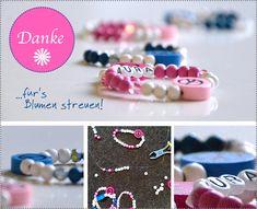 Dankeschön an die Blumekinder: Armschmuck-DIY | Hochzeitsblog