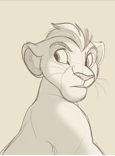 trendy drawing disney sketches the lion king Disney Sketches, Disney Drawings, Cartoon Drawings, Animal Drawings, Cute Drawings, Drawing Disney, Lion King Drawings, Lion Drawing, Lion King Fan Art