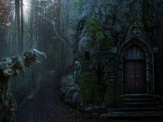 witch house, casa de bruja