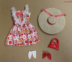 Japanese Exclusive Barbie Outfit 551226812  (??) Floral Mini