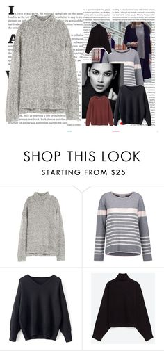 Knitwear! by marouu on Polyvore featuring Duffy, Toast, H&M and Oris