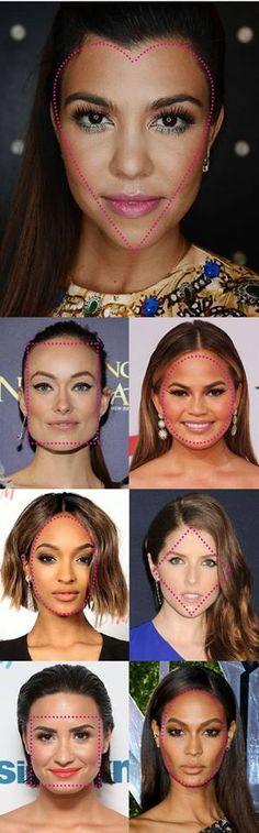Las formas del rostro, descubre cuál es la tuya, redonda, ovalada, cuadrada, rombo o simplemente de corazón