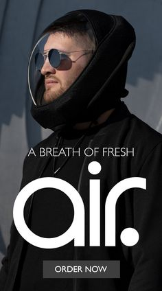 Mens Outdoor Clothing, Wearable Technology, Futuristic Technology, Making Life Easier, Cool Inventions, Fashion Face Mask, Outdoor Outfit, Mask Design, Cool Gadgets