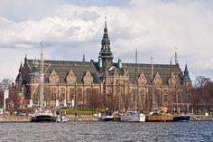The Nordic museum on Skeppsholmen, Stockholm, Sweden