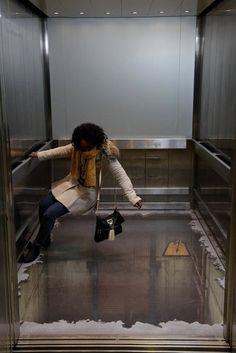 Floorless Elevator in London