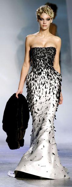 """Zuhair Murad - Couture - """"Winter Rhapsody"""", F/W 2009-2010 http://en.flip-zone.com/fashion/couture-1/fashion-houses/zuhair-murad-1017"""