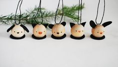 MAKE A SET OF WOODEN ANIMAL ORNAMENTS
