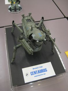 "At Maschinen Krieger Modelers Showcase Final. Ma.K. 1/20 scale ""Centaurus"" By T-BOW. Photo by SHISHIDO Keima. #Ma_K #Maschinen_Krieger"