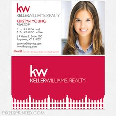 Classy keller williams realtor business card template design idea keller williams business cards kw business cards realtor business cards realty business cards accmission Images