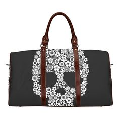 InterestPrint Custom Sugar Skull Travel Bag /Duffel Bag/Luggage Bag/Weekender Bag -- Check this awesome product by going to the link at the image.