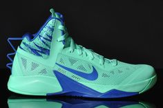 Nike Zoom Hyperfuse 2013 | Green Glow & Game Royal