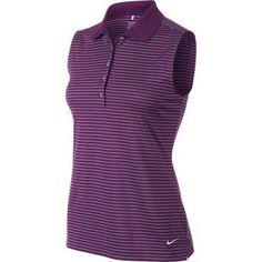 Nike Golf Ladies Tech Stripe Sleeveless Polo 2014 Girls Golf, Ladies Golf, Wilson Golf Clubs, Golf Putters, Golf Shop, Golf Irons, Nike Golf, Golf Outfit, Golf Ball
