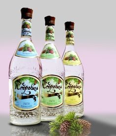 Vodka КЕДРОВКА