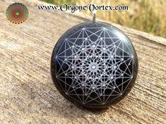 12 Point Grid - Orgone Tesla Pendant- EMF Blocker - Chakra Balancing - FREE Necklace - Hand Made
