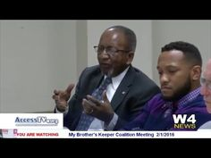 W4 News – My Brother Keeper Coalition Meeting – 2/1/2016 | AccessTV.org