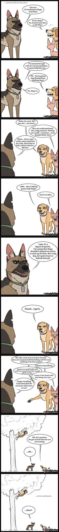 Funny Animal Comics, Cute Comics, Funny Animal Memes, Animal Quotes, Cute Funny Animals, Funny Animal Pictures, Funny Cute, Funny Memes, Jokes
