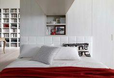 Camere da letto matrimoniali a ponte - Il letto sotto il ponte