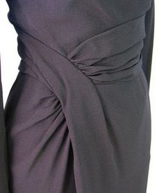 Vintage Detail: 1950s Draped Dress