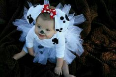 Cute dalmation puppy costume