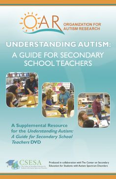 Understanding Autism: A Guide for Secondary School Teachers (free ebook) Secondary Teacher, Secondary School, Understanding Autism, Autism Research, School Teacher, Teacher Tips, Teacher Stuff, Autism Classroom, Classroom Ideas