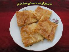 Pumpkin Filled Pastry (Kabakli Borek) Might try to double thickness of pastry on bottom and also drain pumpkin.
