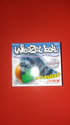 WEAZEL BALL in ERNESTOS' Garage Sale SUISUN, CA for $1.00. Watch as the Playful Weasel chases and jumps the Rolliong Motor Ball.