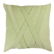 The Mint Woven V Pillow