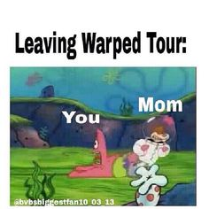I really wanna go to warped tour