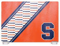 Syracuse University Tempered Glass Cutting Board
