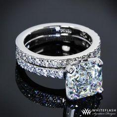 asscher cut engagement ring | best stuff