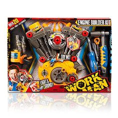 Toy Construction Tools - Lanard Workman Light and Sound Engine Builder Set >>> Be sure to check out this awesome product.