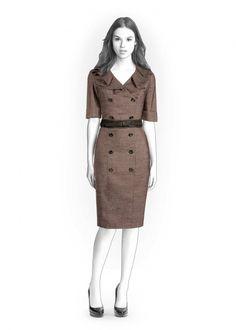 Kleid - Schnittmuster #4225