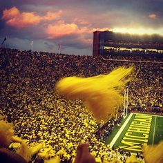 We miss football Saturdays!