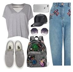 """""""KMGG."""" by valemx ❤ liked on Polyvore featuring Acne Studios, Miss Selfridge, Vans, Marc Jacobs and Spitfire"""