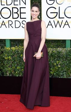 Amanda Peet Dress: Bottega Veneta Lara Spencer Wedding, Golden Globe Awards 2017, Red Carpet Looks, Red Carpet Dresses, Golden Globes, Celebrity Dresses, Celebrity Style, Red Carpet Fashion, Party Fashion