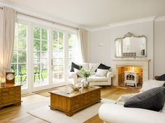 Curtains For Wide Windows Design Ideas, Pictures, Remodel and Decor
