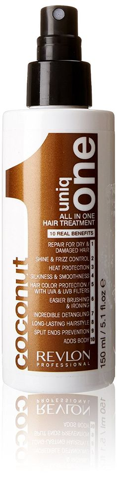 Uniq One All in One Hair Treatment Coconut - 150ml -- You can find out more details at the link of the image.