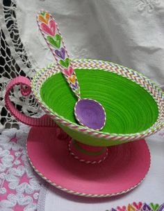 3-Dimensional Paper Teacup, by Lucia Politis