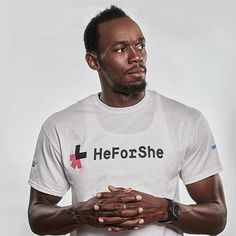 Ao ver que @usainbolt aderiu ao movimento #HeForShe lembrei do Post no qual o @avidaquer assinou apoio e do resumo da defesa da embaixadora dessa causa @emmawatson.  Suas ideias podem ser resumidas em 5 pontos:  1. Homens devem aderir ao feminismo  2.Homens e mulheres devem ter os mesmos direitos e oportunidades  3. Feminismo ficou fora de moda  4. Mulheres devem ter direito de decidir sobre seu próprio corpo  5. É preciso agir agora  Vem também! #girlscandoanything  #agentenaoquersocomida…