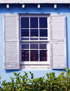 Bermuda House Window