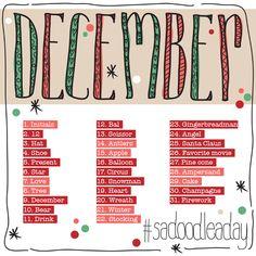 Studio Ann: Doodle a Day: December #sadoodleaday