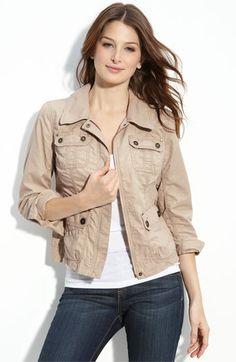 petite cargo jacket