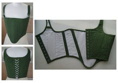 tudor corset century) made by phoebe roberts Diy Clothing, Sewing Clothes, Clothing Patterns, Historical Costume, Historical Clothing, Fashion Sewing, Diy Fashion, Diy Corset, Tudor Costumes