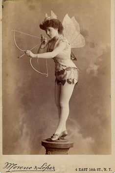 The Charles McClaghy Collection has released this intriguing selection of images of female exotic dancers from the 1890s, which shows just how different our perception of 'exotic' has become over the intervening 120 or so years.