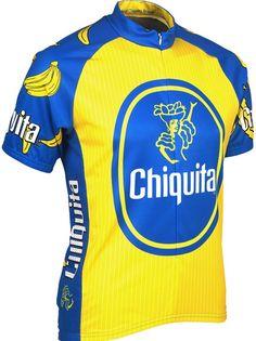 Chiquita Banana Cycling Jersey - FREE Shipping on great cycling jerseys at  cyclegarb.com Cycling b23a98c9e