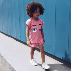 """London Scout & Sai on Instagram: """"Watching you with one eye open. Relaxed toddler style outfit from @yesstyle. Check out their shoes too, so cute! #scoutstyle #yesstyle"""""""